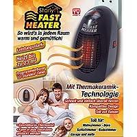 Starlyf SFH-0317-400 Fast Heater, Negro