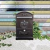 GLJ Im Freien Wasserdichte Wand Hängen Kreative Garten Mailbox Der Europäischen Mailbox Villa Briefkasten