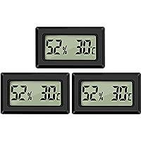 Thlevel Mini Digital LCD Thermomètre Hygromètre Température Humidité Testeur Thermomètre Portable Thermo Hygromètre…