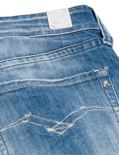 Replay Newswenfani-Pantaloni Donna Blu (Blue Denim 9)