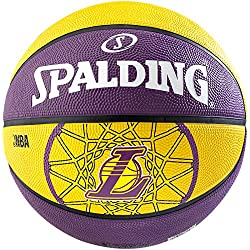Spalding baloncesto infantil Team Ball L.a. Lakers tamaño 7