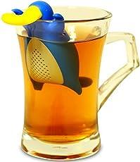 HENGSONG Nette Silikon Teesiebe Teeei Teefilter Tea Infuser Teekugel für lose Teeblätter