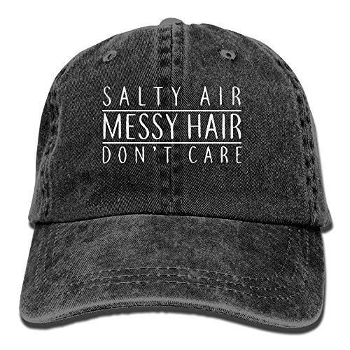 vintage cap Baseball Cap Salty Air Messy Hair Don't Care-1 Women Snapback Caps Adjustable Dad Hat