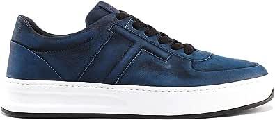 Tod's Luxury Fashion Uomo XXM79B0BS10FL1U616 Blu Pelle Sneakers   Autunno-Inverno 19