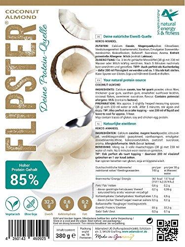 Flipster® - deine Proteinquelle Instant Joghurt - verschiedene Geschmacksrichtungen (Kokos - Mandel) (Kokos-mandel-brot)