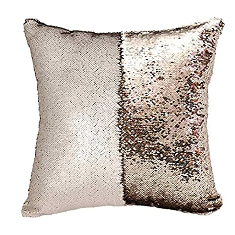 OVERMAL 2016 Couleur Mermaid Coussin Canapé Brodent Taies (G)