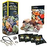 National Geographic Rough Jasper Refill Kit for Rock Tumbler by