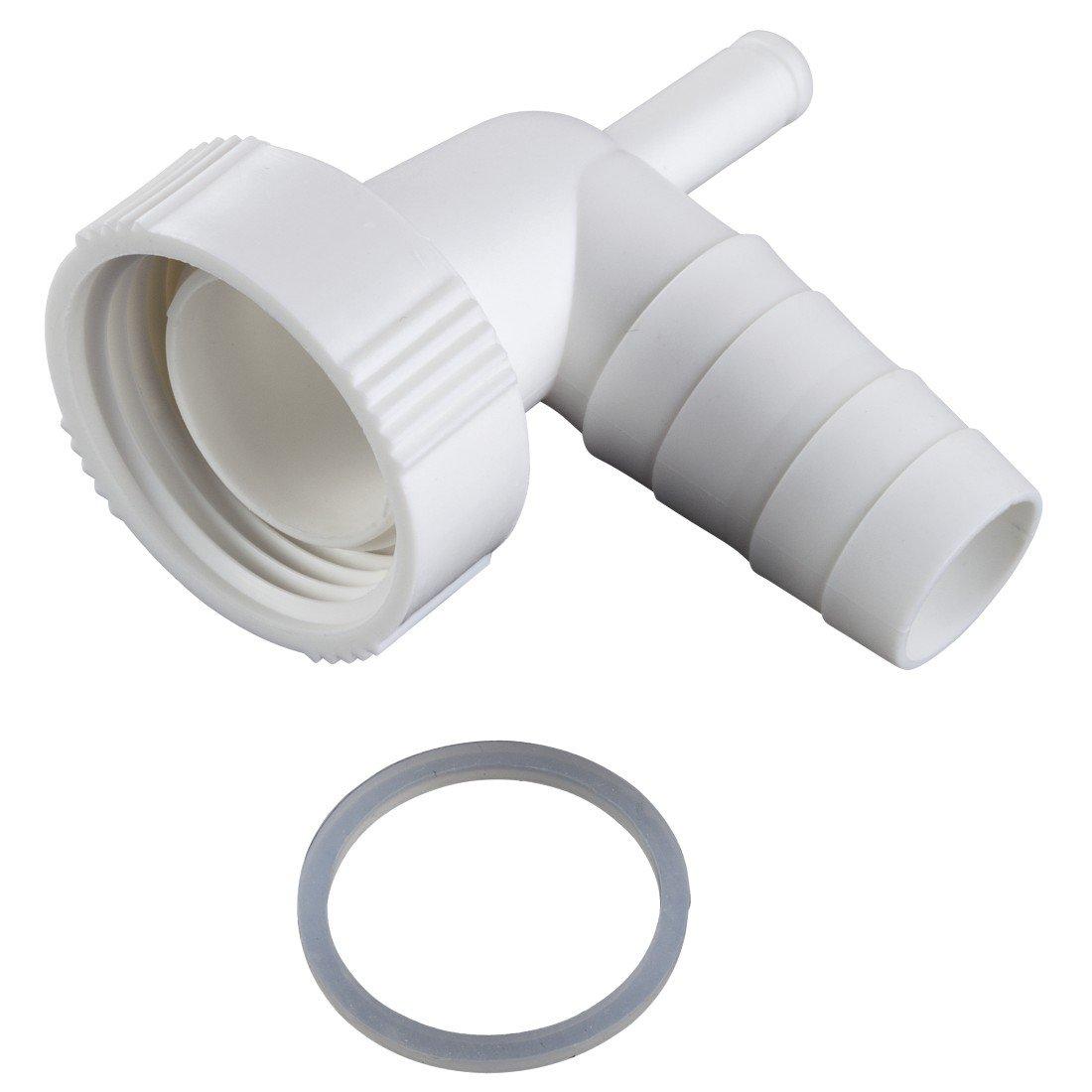 xavax dualer siphonanschluss zum anschluss von kondenstrockner und waschmaschine am siphon. Black Bedroom Furniture Sets. Home Design Ideas