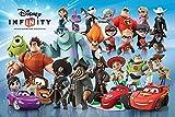 empireposter 'Poster mit Figuren Disney INFINITY, mit vielen Figuren, Zubehör 20 tesa Powerstrips