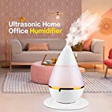 Pinjeer Nouveau Mini Ultrasons Home Office Humidificateur Waterdrop LED Lumière Diffuseur D'air Purificateur Atomiseur USB Puissance Arôme Air Humidité Moisture