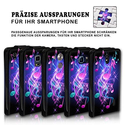 Vertikal Flip Style Handy Tasche Case Schutz Hülle Schale Motiv Etui Karte Halter für Apple iPhone 5 / 5S - Variante VER34 Design7 Design 5