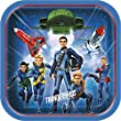 23cm Square Thunderbirds Party Plates, Pack of 8