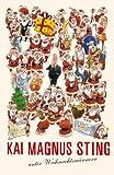 Kai Magnus Sting unter Weihnachtsmännern