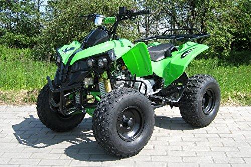 Kinder Quad S-10 125 cc Motor Miniquad 125 ccm grün Warriorer