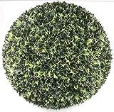 P.Shop Garten Kugel Ilex Stechpalme Christdorn Kunstpflanze Ø 58 cm