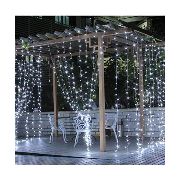 BOLWEO Solar Powered String Lights,Waterproof Fairy Lights for Outdoor Decoration 5