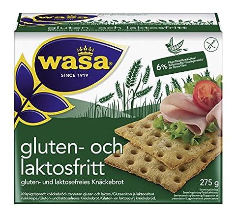 Wasa Knäckebrot gluten- und laktosefrei, 10er Pack (10 x 275 g) (Gluten Laktosefrei)