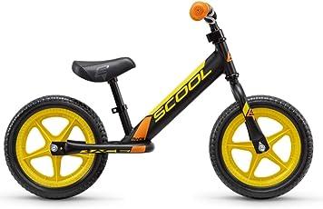 S'Cool pedeX race Kinder Laufrad (One Size, black/yellow matt)