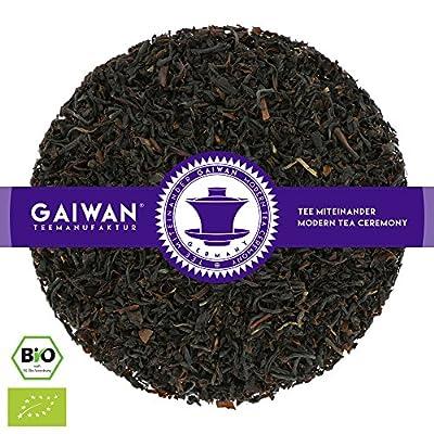 """N° 1354: Thé noir bio """"Nilgiri TGFOP"""" - feuilles de thé issu de l'agriculture biologique - GAIWAN® GERMANY - thé noir de Inde"""
