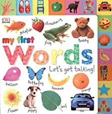 Tabbed Board Books: My First Words: Let's Get Talking! (Tab Board Books)