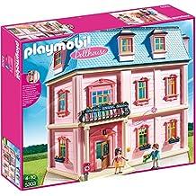 PLAYMOBIL 5303 - Romantisches Puppenhaus + PLAYMOBIL 5336 - Einbauküche mit Sitzecke