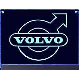 Iveco Led Leuchtschild 60x30cm Lkw Rückwandschild Ideale Geschenkidee Led Beleuchtung Lasergraviert Edles Led Schild Als Truck Accessoire Beleuchtetes Iveco Logo Schild Für Den 24volt Anschluss Auto