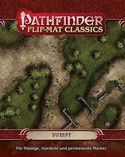 Pathfinder Flip-Mat Classics: Sumpf (Pathfinder / Fantasy-Rollenspiel)