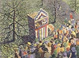Penrose Annual 1930 Punch & Judy Show Poster Print by K.A. Jarvis (24 x 36)