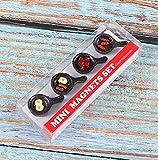 Kühlschrank Sticker Mini Set niedliche Eisfrucht-Magnetic Aufkleber Senden Freunde Klassenkameraden Kleine Geschenk