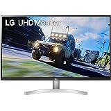 "LG UltraFine 32UN500-W 32"" Moniteur UHD 4K 16/9e 3840x2160, VA 4ms 60Hz, HDR 10, DCI-P3 90% (AMD FreeSync, fonctionnalités ga"