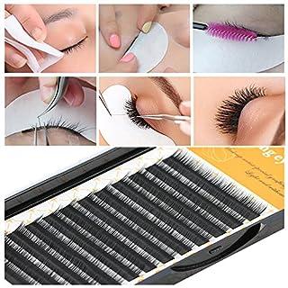 IGEMY Grafting False Eye Lashes Wave 0.05 C Black Silk Eyelashes Extension (G)