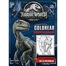 Jurassic World. El reino caído. Libro para colorear