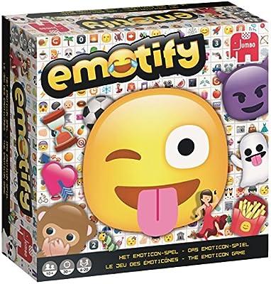 Jumbo 19571 Emotify Famille Jeu