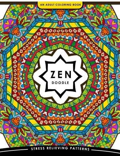 [PDF] Téléchargement gratuit Livres Zen Doodle Coloring Book: Flower Animal and Mandala Coloring Book for Adults