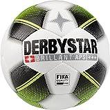 Derbystar Erwachsene Brillant APS Fussball, weiß schwarz gelb, 5