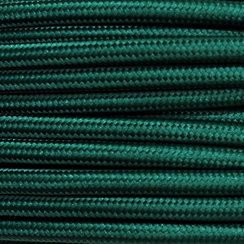 10-metri-cavo-elettrico-tondo-rivestito-in-tessuto-colorato-3x075-verde-scuro-petrolio-per-lampadari
