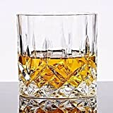 Best Scotch Glasses - PRAX Classic Designer Crystal touch Glass set of Review