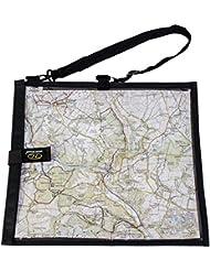 Highlander MAP004 Wanderer Waterproof Hiking Map Case Cover/Neck Strap