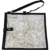 Highlander MAP004 Wanderer Waterproof Hiking Map Case Cover/Neck Strap