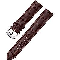 iStrap Cinturino In Pelle - Motivo A Coccodrillo - Cinturini Per Orologio Per Uomo Donna - Fibbia In Acciaio…
