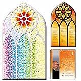 Kirchenfenster-Adventskalender: mit Begleitbuch 'AdventZeit'