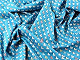Süße Enten Print Baumwolle Popeline Stoff, Meterware,