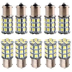 Everbright 10-Pack T253156505027smd fuoco di posizione LED esterno luci per auto Fuochi di stop DC 12V