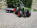 RC Traktor CLAAS Axion 850 mit Anhänger-Bordwandanhänger 1:16
