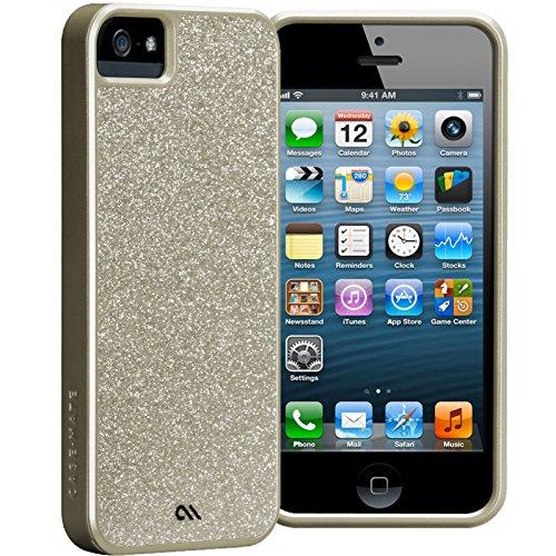 Case Mate CM022464  Glam Case für Apple iPhone 5 gold
