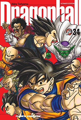 Dragon Ball nº 34/34 (DRAGON BALL ULTIMATE) por Akira Toriyama