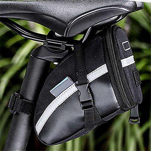 ASOSMOS 1.2L Bike Sitz Sattel Wedge Pack Aufbewahrungstasche Paar Mountain Road Fahrrad Bike Radfahren PU Satteltasche, Fahrrad Reparatur Werkzeug Pocket Pack Reiten Supplies (Road-bikes Zum Verkauf)