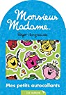Monsieur Madame - Mes petits autocollants - La nature par Hargreaves