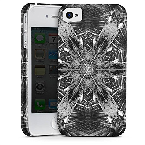Apple iPhone X Silikon Hülle Case Schutzhülle Abstrakt Batik Tie Dye Premium Case glänzend