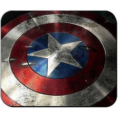 Capitan America scudo Captain America Shield Tappetino Mousepad PC